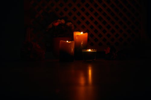 Free stock photo of bright, candle, dark, fire