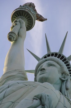 Free stock photo of sky, landmark, Statue of Liberty, statue