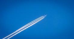 flight, sky, airplane