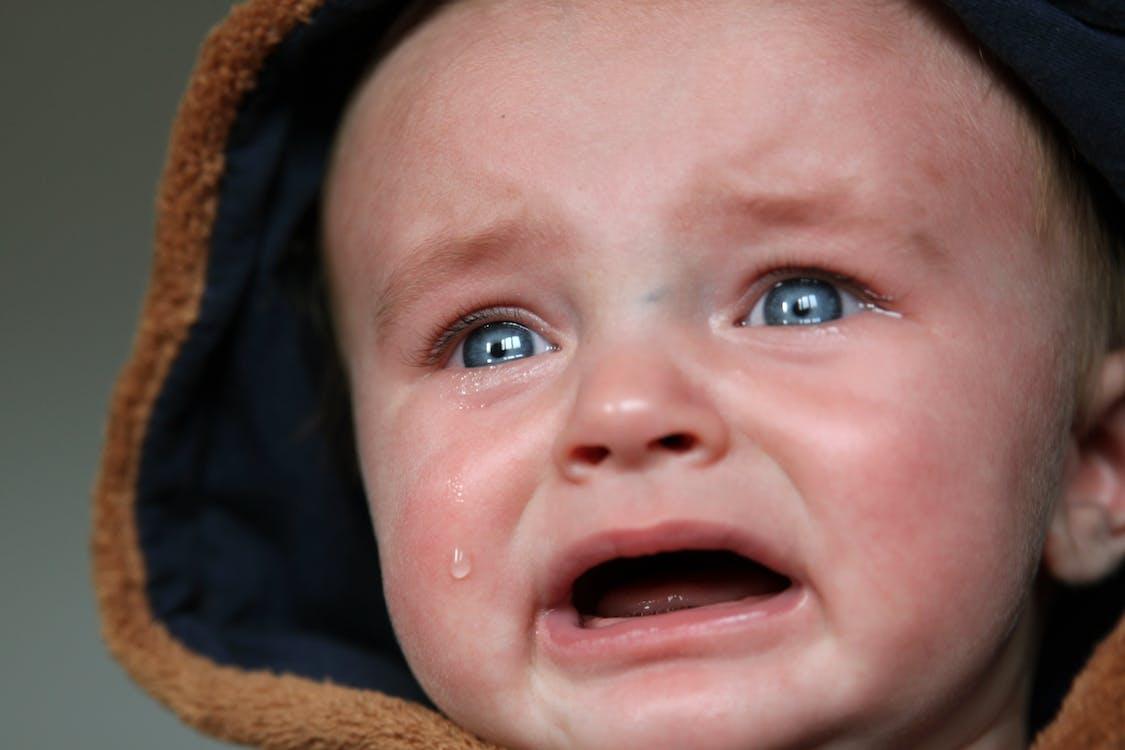 bébé, émotion, enfant