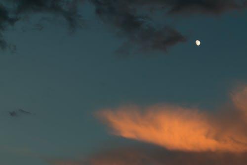 Kostenloses Stock Foto zu draußen, himmel, mond, nacht