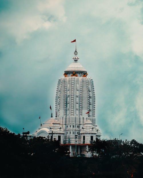 Foto profissional grátis de chandan suman, fotografia de arquitetura, jagannath mandir, templo hindu