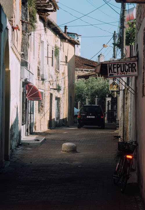 Kostenloses Stock Foto zu albanien, alte häuser, architektur