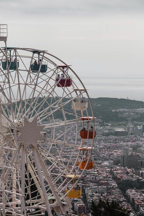 Kostenloses Stock Foto zu architektur, barcelona, blick von oben
