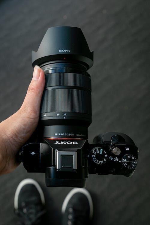Kostenloses Stock Foto zu digitalkamera, dslr, dslr hintergrund
