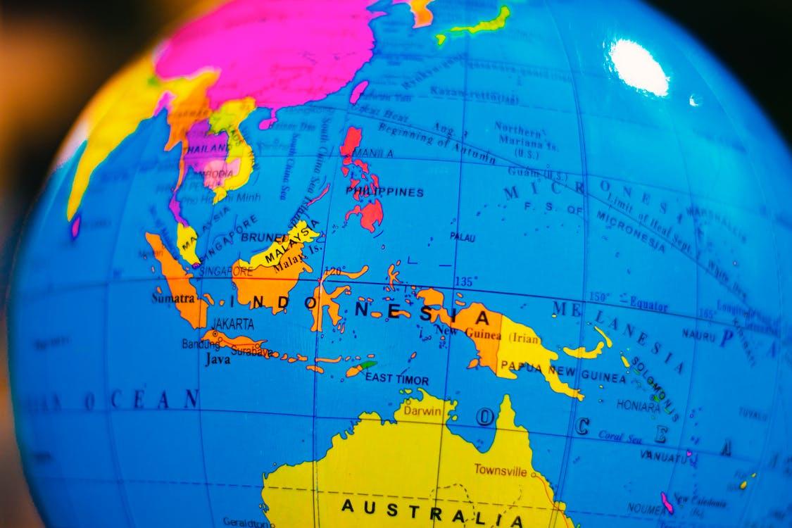 Foto stok gratis benua, berbentuk bola, geografi