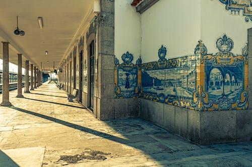 Free stock photo of estación de ferrocarril