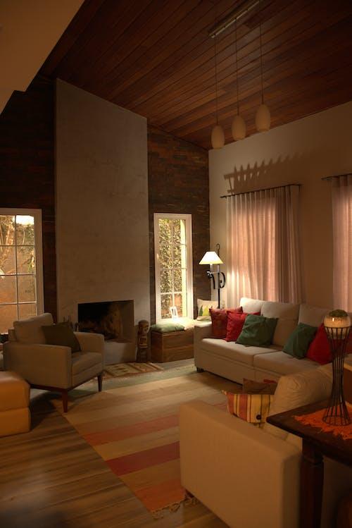 Free stock photo of design de interiores, sala de estar, sofa