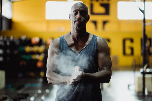 Ingyenes stockfotó afro-amerikai férfi, edzőterem, fekete ember témában