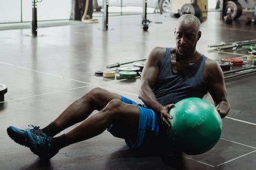 Ingyenes stockfotó afro-amerikai férfi, állóképesség, edzés témában