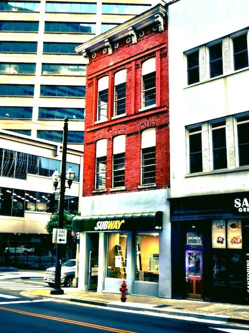 Free stock photo of brick building, fast food, nashville