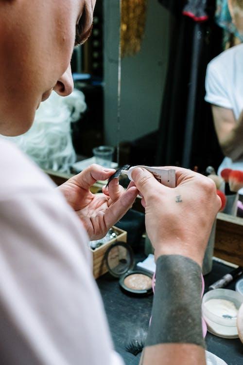 Fotobanka sbezplatnými fotkami na tému človeka, drag queen, kozmetického výrobku