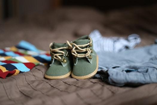 Kostenloses Stock Foto zu schuhe, stiefel, fußbekleidung, baby schuhe