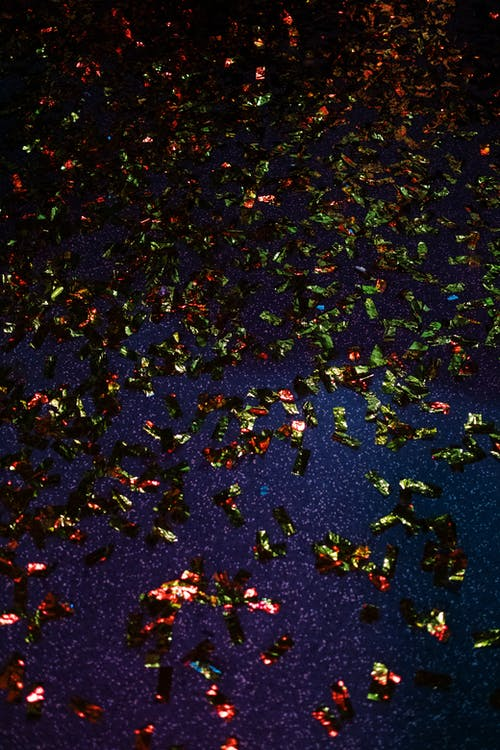 Confetti On The Ground