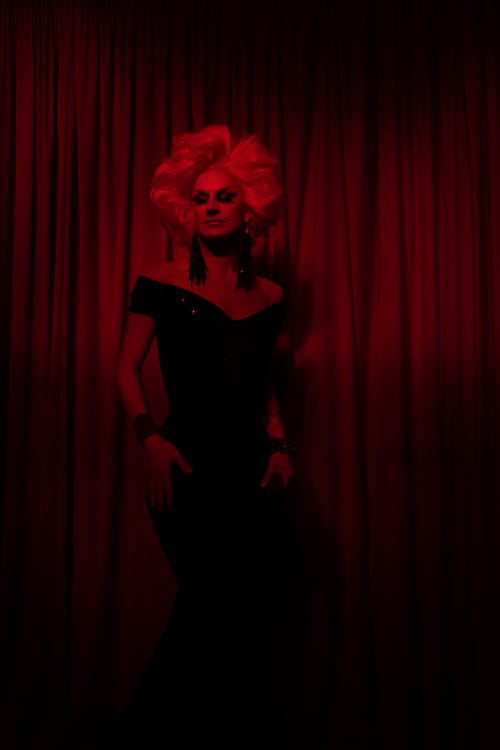 Drag Queen on a Stage