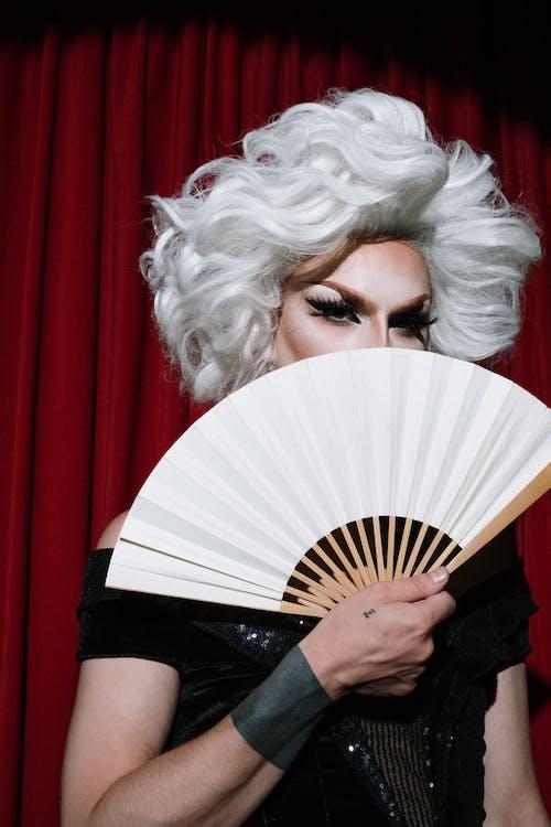 Immagine gratuita di anonimo, artista, bellissimo, capelli bianchi