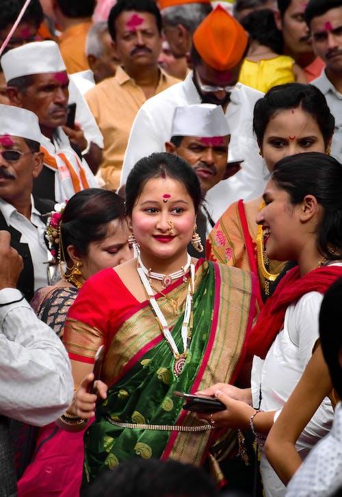 Free stock photo of beautiful bride, bride, festival, indian culture