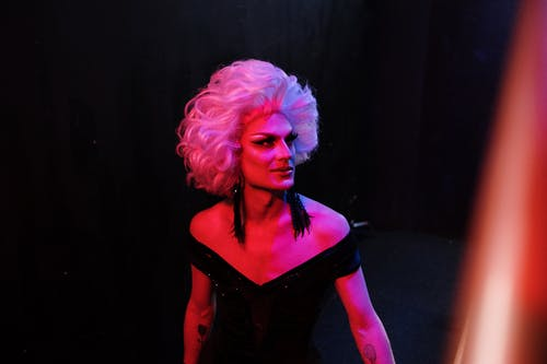 Drag Queen in the Dark