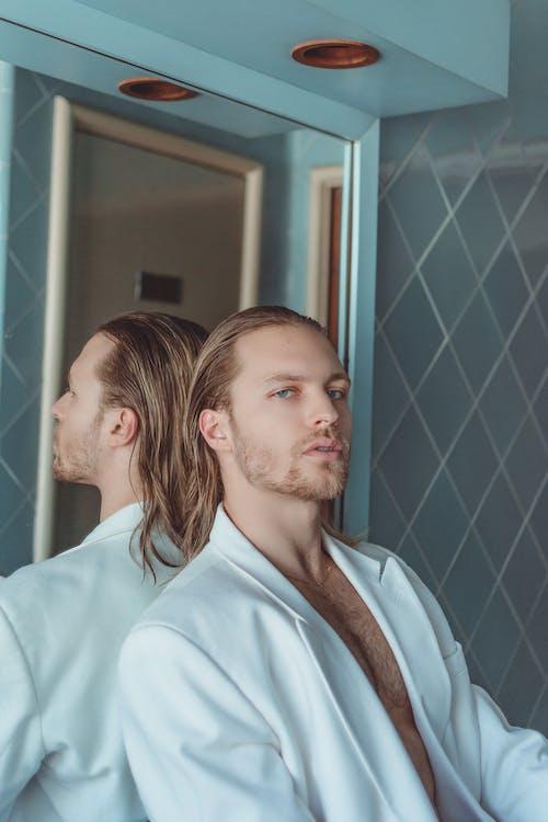 가족, 거울, 남자의 무료 스톡 사진