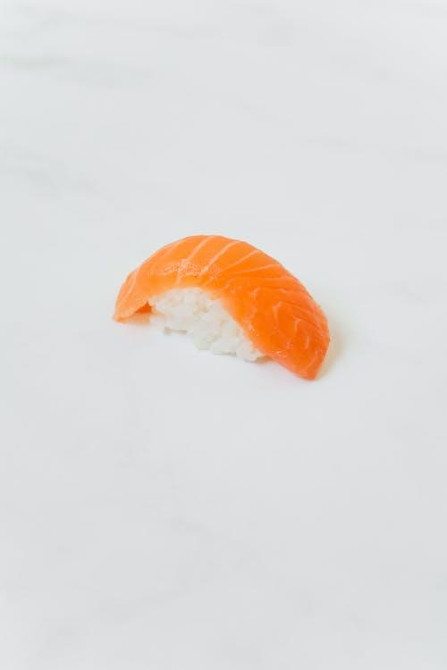 Orange Fruit on White Snow