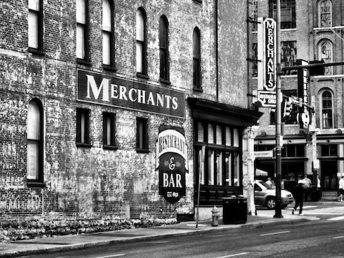 Free stock photo of city street, nashville, old building