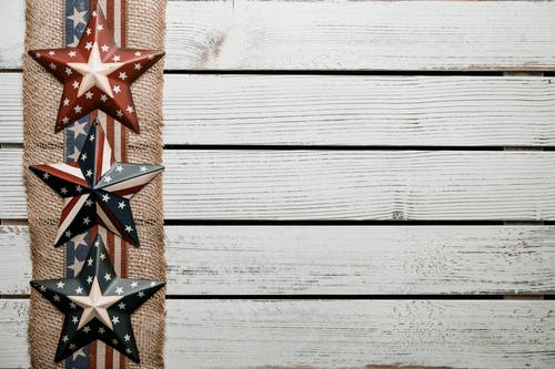 Brown and Black Star Wall Decor