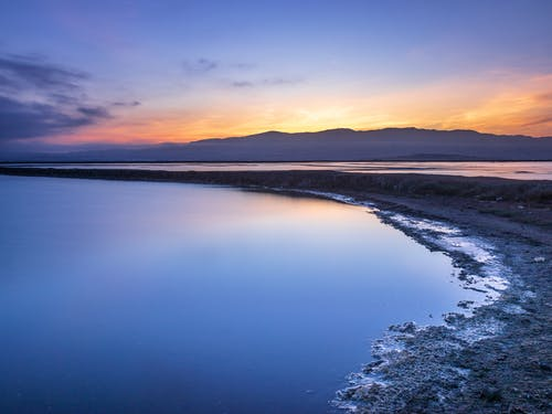 Free stock photo of blue hour, calm water, early morning, early sunrise