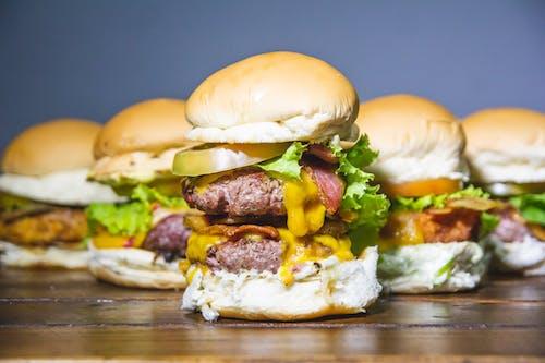 Free stock photo of bacon, burger, comida, fast food