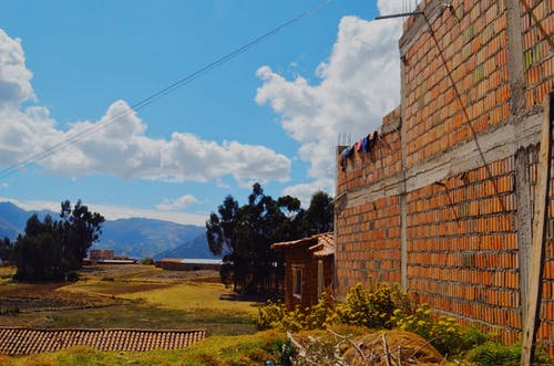 Free stock photo of andes, laundry, mountain, mountain view