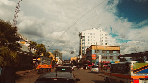 Free stock photo of africa, analogue, buildings