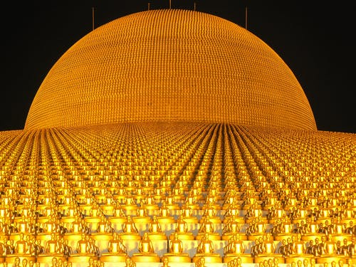คลังภาพถ่ายฟรี ของ ทอง, ประเทศไทย, พระพุทธรูป, พระเจ้า