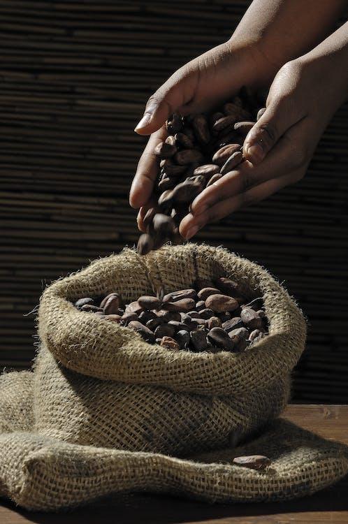 café, cafeína, granos de café