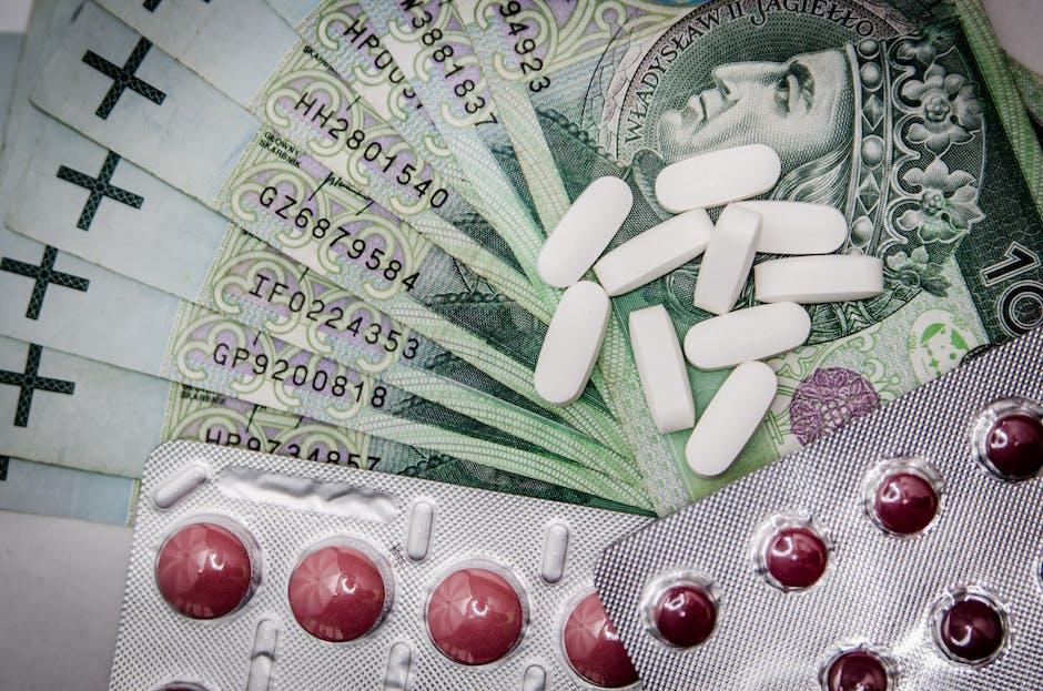 White Oval Medication Pill Beside Blister Pack