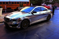 car, chrome, mercedes