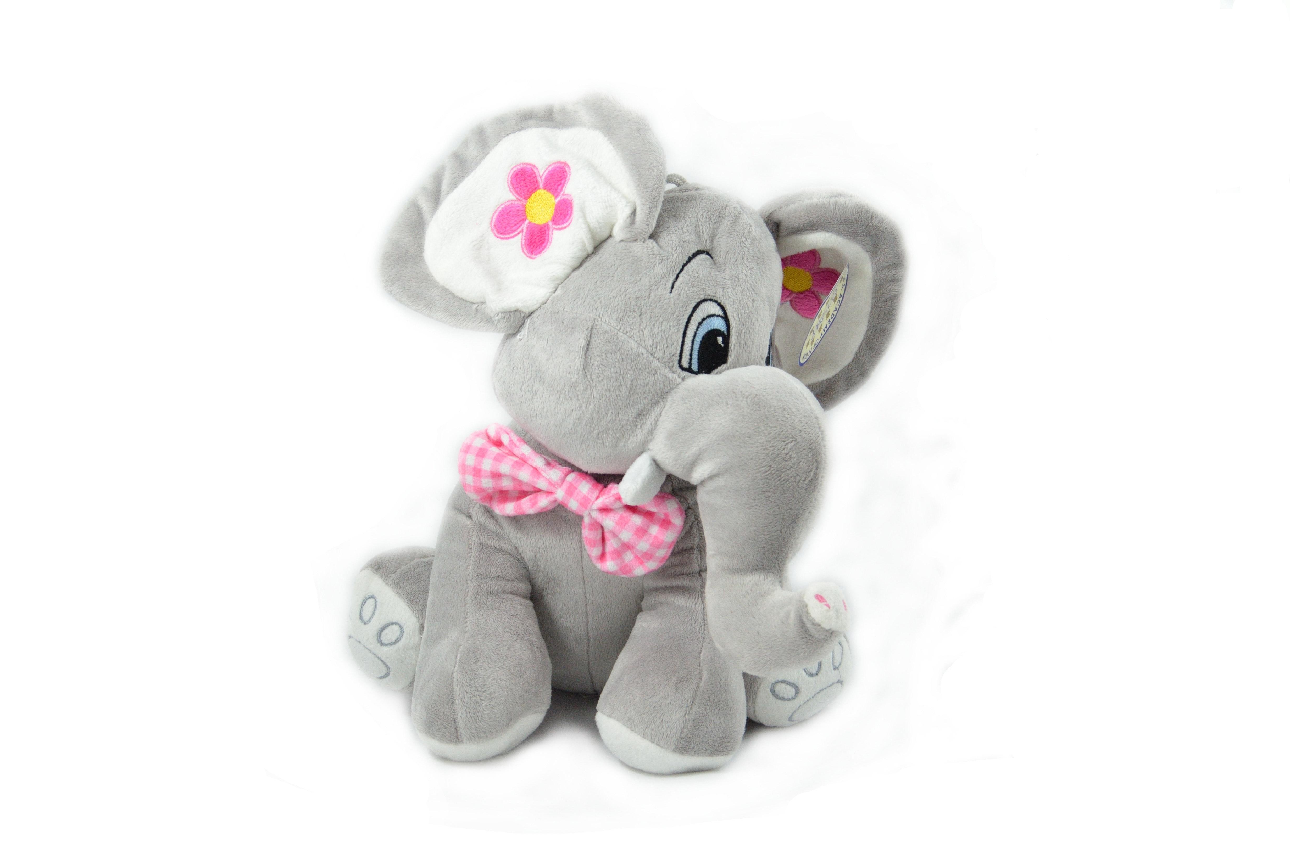 Gray Elephant Plush Toy Free Stock Photo