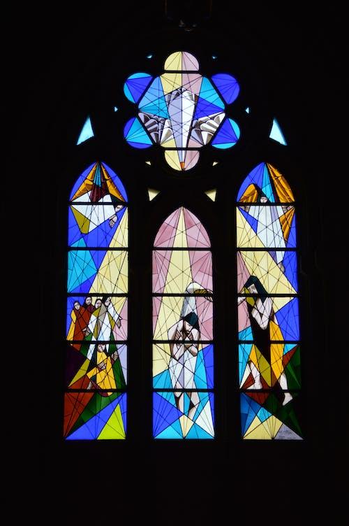 圖案, 基督教, 宗教, 彩色玻璃 的 免费素材照片