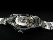metal, time, watch