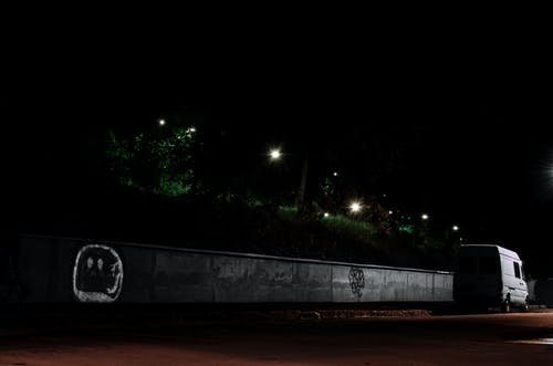 Free stock photo of car, Lviv, night, steet