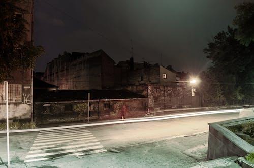 Free stock photo of Lviv, night, pedestrian, road