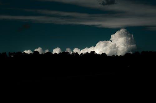 Free stock photo of clouds, horizon, white