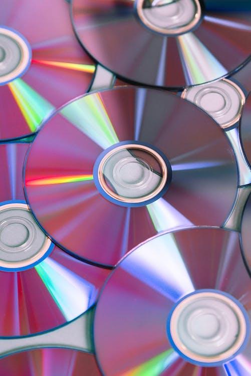 CD, DVD, 굴절