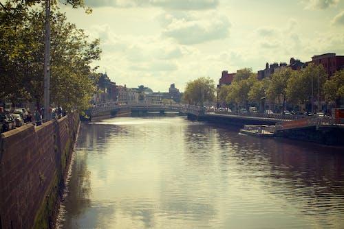 Ilmainen kuvapankkikuva tunnisteilla kanaali, kanava, kaupunki, silta