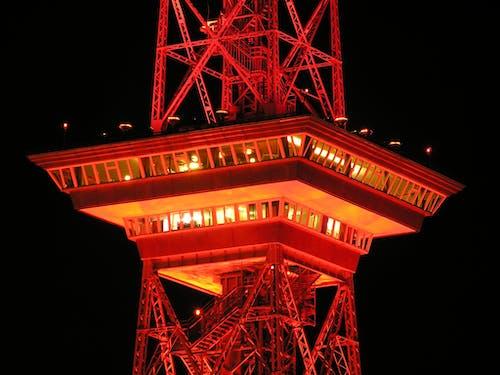 Ingyenes stockfotó éjszaka, építészet, fények, megvilágított témában