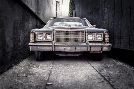 Kostenloses Stock Foto zu auto, fahrzeug, vintage, windschutzscheibe