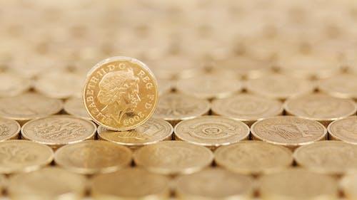 景深, 硬幣, 錢 的 免費圖庫相片