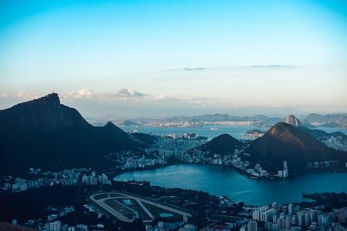 Amazing landscape of coastal city