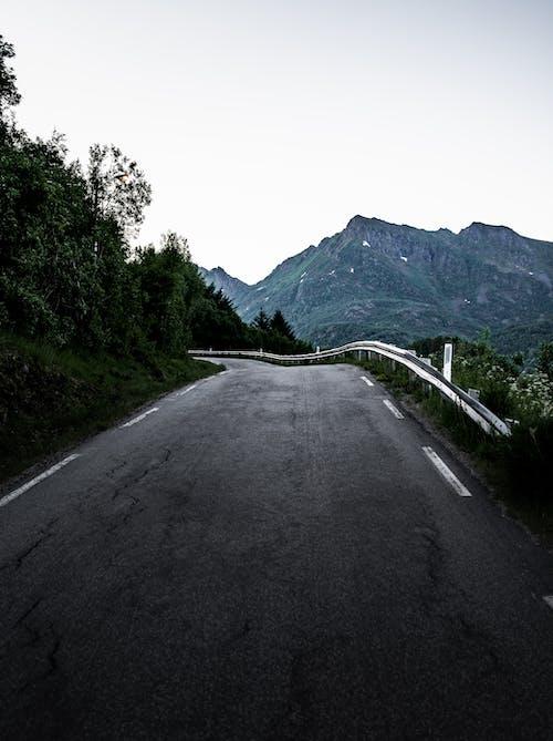 åpen vei, 가벼운, 거리, 경치의 무료 스톡 사진