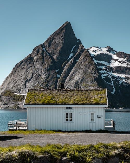 fjell snø, 건물, 건축, 건축 양식의 무료 스톡 사진