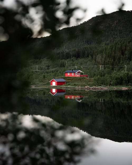 refleksjon, 강, 경치, 교통체계의 무료 스톡 사진