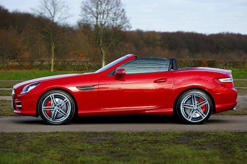 amg, kırmızı, Mercedes-Benz, slk içeren Ücretsiz stok fotoğraf